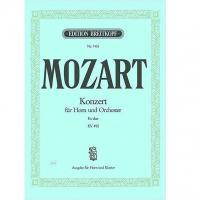 Mozart Konzert fur Horn und Orchester Nr. 4 KV 495 - Breitkopf