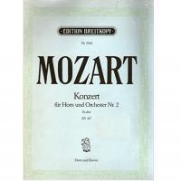 Mozart Konzert fur Horn und Orchester Nr. 2 KV 417 - Breitkopf