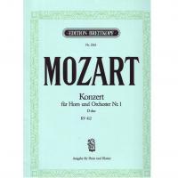 Mozart Konzert fur Horn und Orchester Nr. 1 KV 417 - Breitkopf