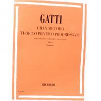 Gatti Gran metodo teorico pratico progressivo per cornettta a cilindri congeneri Parte I (Giampieri) - Ricordi