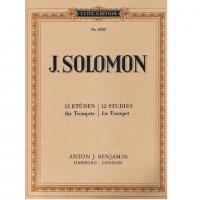 J. Solomon 12 Studies for Trumpet - Anton j. Benjamin
