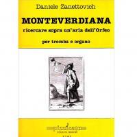 Daniele Zanettovich Montverdiana ricercare sopra un'aria dell'Orfeo per tromba e organo - Pizzicato