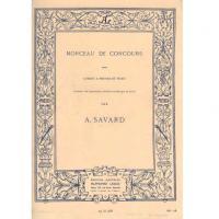 Morceau de concours pour Cornet a pistons et piano A. SAVARD - Alphonse Leduc