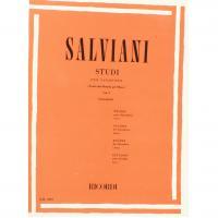 Salviani STUDI per Saxofono (Tratti dal Metodo per Oboe) Vol. 1 (Giampieri) - Ricordi