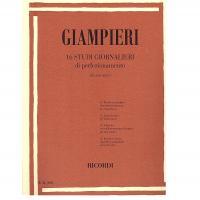 Giampieri 16 STUDI GIORNALIERI di perfezionamento per Saxofono - Ricordi