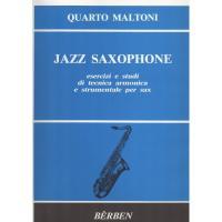 Quarto Maltoni Jazz saxophone esercizi e studi di tecnica armonica e strumentale per sax - Bèrben