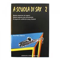 A scuola di Sax 2 Metodo progressivo per ragazzi - Edizioni Curci