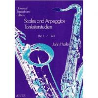 Universal Saxophone Edition Scales and Arpeggios Tonleiterstudien Part I