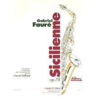 Gabriel Fauré Sicilienne op. 78 - Alphonse Leduc