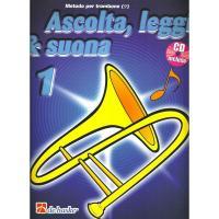 Metodo per trombone Ascolta, leggi & suona 1 - Dehaske