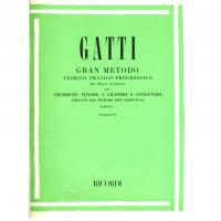 Gatti Metodo teorico pratico progressivo per trombone tenore a cilindri e congeneri Parte 1 (Giampieri) - Ricordi