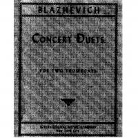 Blazhevich Concert Duets - International Music Company
