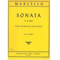 Marcello SONATA in G major for Trombone and Piano - International Music Company