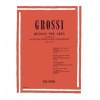 Grossi Metodo per Arpa, 65 Piccoli studi facili e progressivi di Ettore Pozzoli - Ricordi