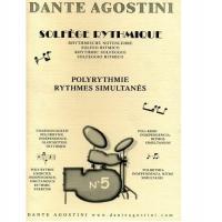 Dante Agostini Solfeggio Ritmico 5 - Agostini