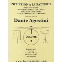 Dante Agostini Initiation à la batteria Avvio allo studio della batteria - Agostini