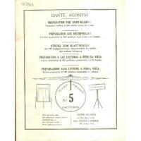 Dante Agostini Preparazione alle letture a prima vista n° 5