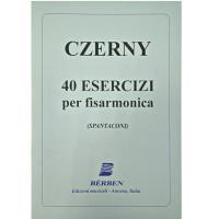 Czerny 40 Esercizi per fisarmonica (Spantaconi) - Bèrben