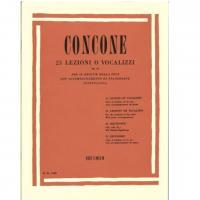 Concone 25 LEZIONI O VOCALIZZI Op. 10 (Vannuccini) - Ricordi