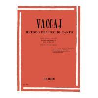 Vaccaj METODO PRATICO DI CANTO (mezzo soprano o baritono) - Ricordi