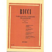 RICCI Variazioni - Cadenze Tradizoni per canto Vol. 1 (Voci femminili) - Ricordi