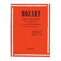 Mozart Arie Scelte per canto e pianoforte Vol. IV 22 Arie per baritono e basso - Ricordi