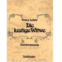 Franz Lehar Operette Klavierauszug - Doblinger 09050