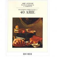 Arie Antiche Collezione Completa/Vol. 3 40 ARIE - Ricordi