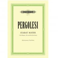 Pergolesi Stabat Mater 2 Soli und Streichorchester Klavierauszug/ Vocal Score