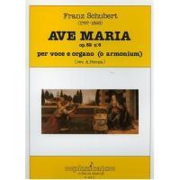 Schubert AVE MARIA OP. 52 N. 6 per voce e organo - Pizzicato