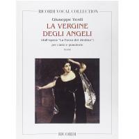 Verdi La Vergine Degli Angeli Coro, Canto e Pianoforte - Ricordi
