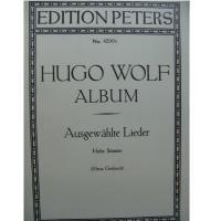 Hugo Wolf Album Ausgewahlte Lieder (Elena Gerhardt) - Edition Peters