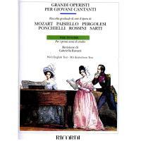 Grandi Operisti per giovani Cantanti Per tenore - Ricordi