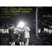 Ninne nanne, filastrocche e canti infantili italiani per pianoforte, con parole (Renzo Tozzi) - Ricordi