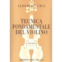 Curci Tecnica fondamentale del violino Parte Prima - Edizioni Curci Milano