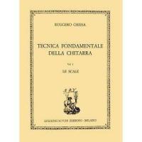 Chiesa Tecnica fondamentale della chitarra Vol. 1 Le scale - Edizioni Suvini Zerboni