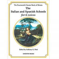 The Fourteenth Chester Book of Motets The Spanish Schools for 6 Voices - CHester Music