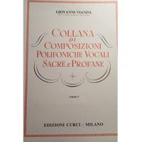 Achille Schinelli Collana di Composizioni Polifoniche Vocali Sacre e Profane Volume V - Edizioni Curci