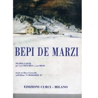 Bepi de marzi Nuovi Canti per cosi Maschili e cori Misti - Edizioni Curci