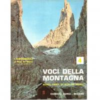 I crodaioli Voci della montagna Nuovi canti di Bepi de marzi 4 - Edizioni Curci