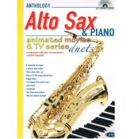 Anthology Alto sax Animated movie e tv series duets - Carisch
