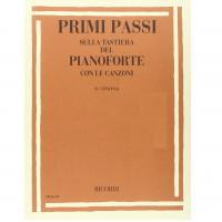 Primi Passi sulla tastiera del Pianoforte con le canzoni (concina) - Ricordi