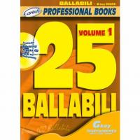 Professional Books 25 Ballabili G Volume 1 - Carisch