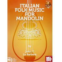 Italian Folk Music For Mandolin - Melbay