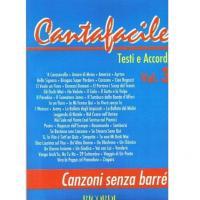 Cantafacile Testi e Accordi Vol. 3 Canzoni senza barré - BMG