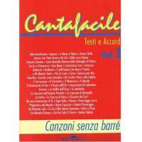 Cantafacile Testi e Accordi Vol. 2 Canzoni senza barré - BMG
