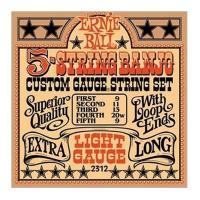 Muta di corde Ernie Ball 5 String Banjo 2312