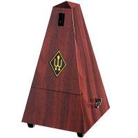 Metronomo meccanico Wittner Pyramid shape 855111 Mogano granulato