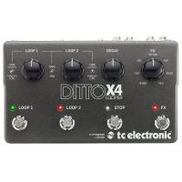TC Electronic Ditto X4 Looper Loop station Effetto per chitarra elettrica
