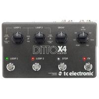 Effetto TC Electronic Ditto X4 Looper Loop station per chitarra SPEDITO GRATIS